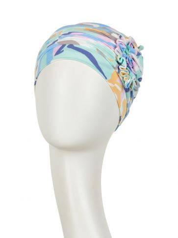 Lotus turban - printed Shop style