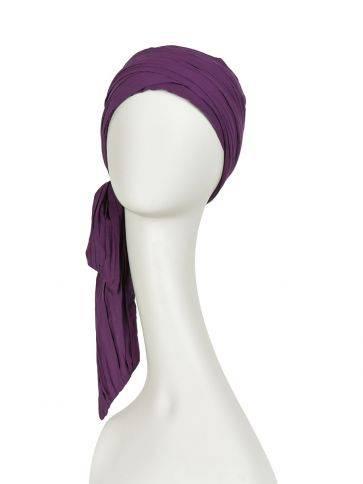 Joli scarf - long crinkled - Bomuld