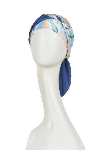 Beatrice turban with ribbons Shop style
